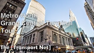 Train Station Tour: Grand Central Terminal, NYC (Metro-North RR) - 60FPS
