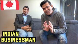 Self Made Indian Millionaire Businessman in Canada | Interview of Dr Anurag Sinha