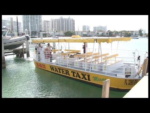 Miami Beach ahora cuenta con Water Taxis en la Bahía