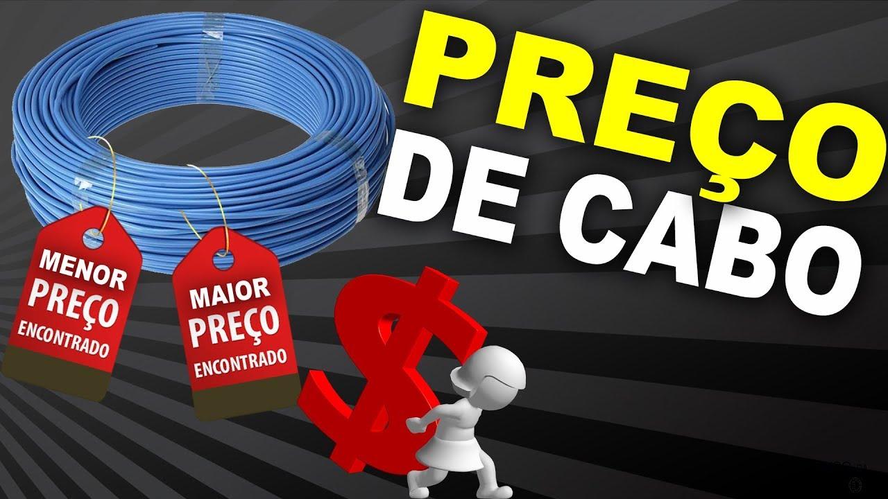 ef3dd3c9e PREÇOS de CABOS ELÉTRICOS ...