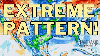 Extreme Pattern From Record Cold To Record Heat! POW Weather Channel