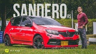"""Renault Sandero RS, el """"Hot-Hatch latino""""."""