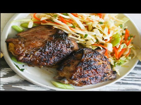 How to Make: Jamaican Jerk Chicken (Authentic-American Style)