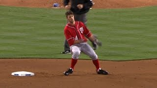 Harper makes Major League debut with Nats