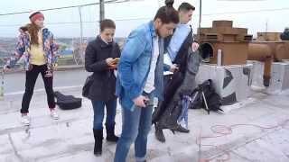 Vlog: Съемки музыкального клипа на крыше