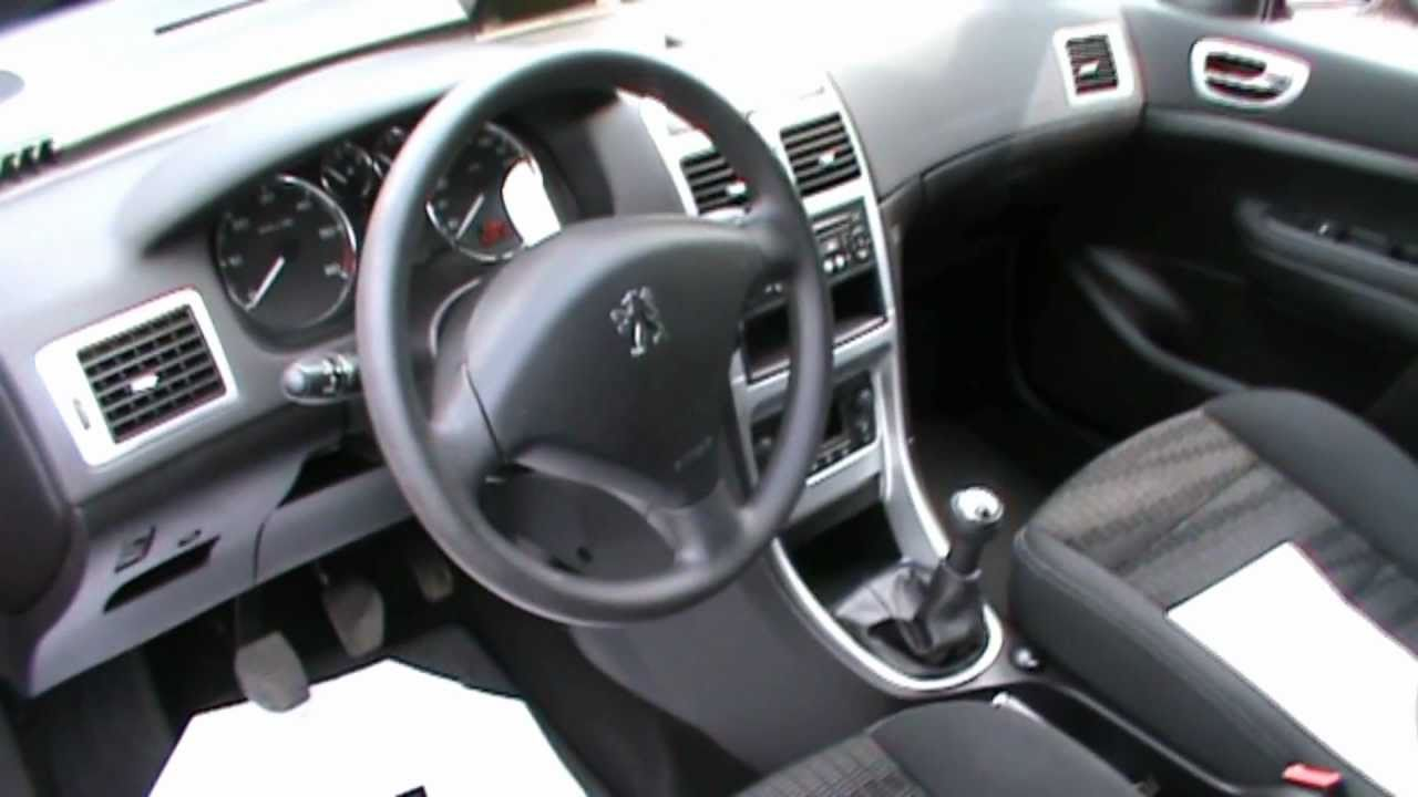 2008 peugeot 307 break d-sign 1.6 16v hdi review,start up, engine