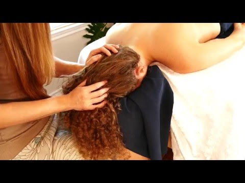 Ultra Relaxing Massage Tutorial by Meera, How to Give Scalp Massage, HD ASMR Soft Spoken with Music