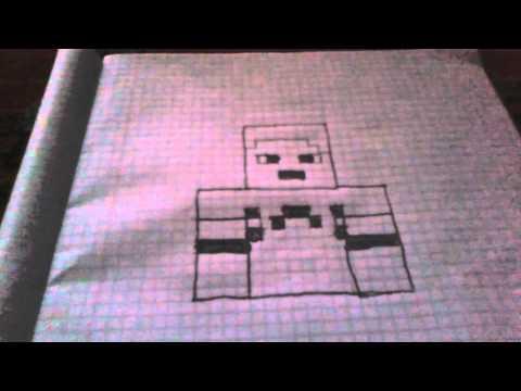 Minecraft Skin Cizimi -1