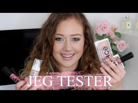 Jeg Tester Essence Makeup!