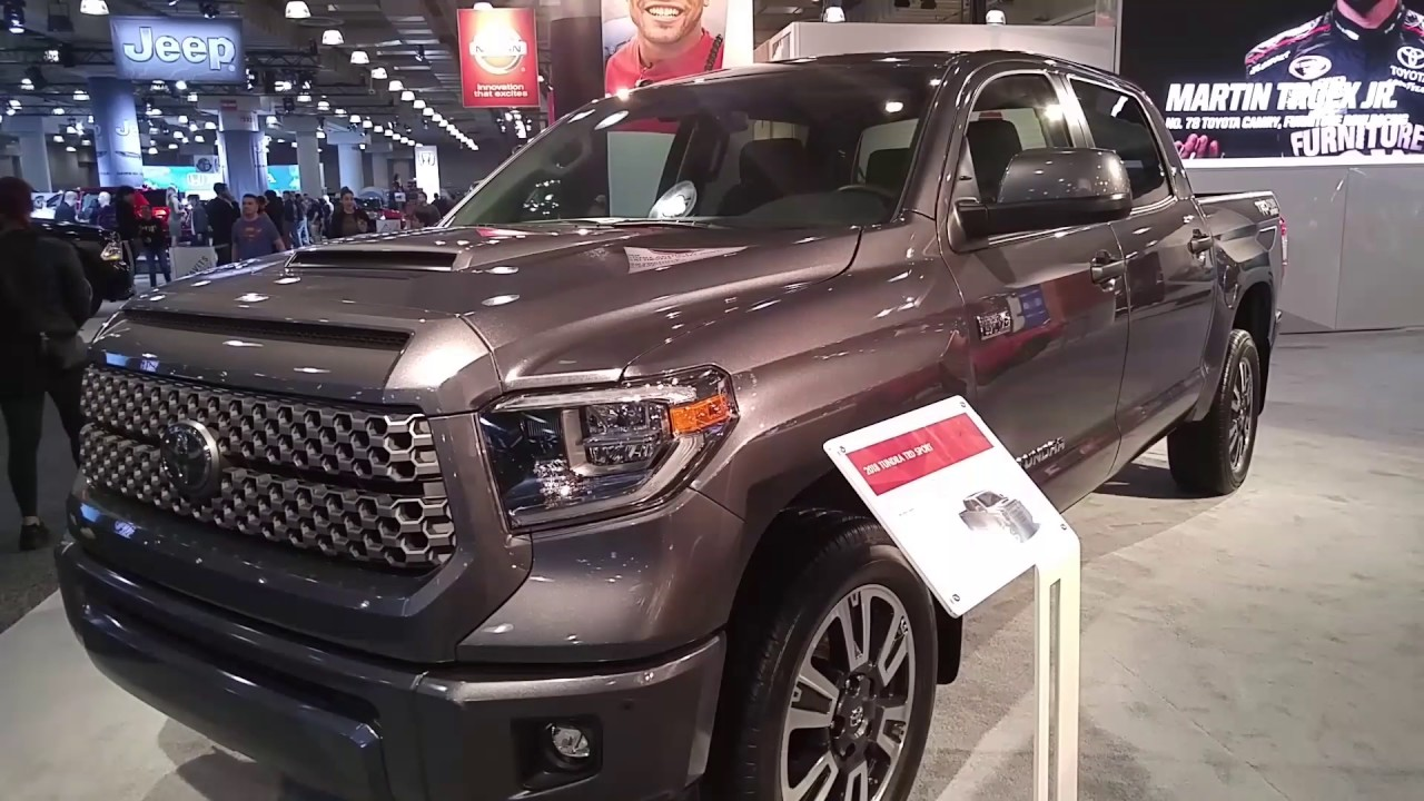 2018 toyota tundra trd sport youtube. Black Bedroom Furniture Sets. Home Design Ideas