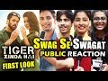 Swag Se Karenge Sabka Swagat FIRST LOOK Public Reaction Salman Khan Katrina Kaif mp3