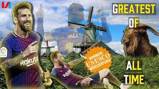 Messi Moet Unesco Werelderfgoed Worden: 'Willen Hem Zien Voetballen Tot Zijn Vijftigste!'