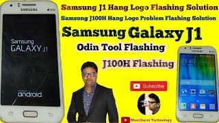 Samsung J1 Hang Logo Flashing Solution l Samsung Galaxy J100H Hang Logo Problam Flashing Solution