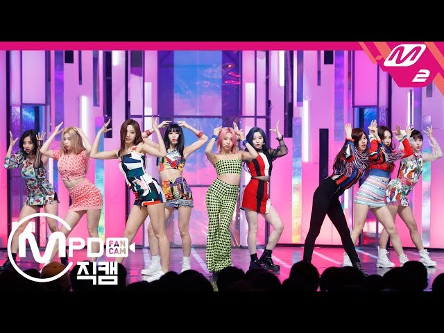 [MPD직캠 4K] 트와이스 직캠 'FANCY' (TWICE FanCam) | @MCOUNTDOWN_2019.4.25