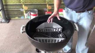 Weber Charcoal Grills Component Overview