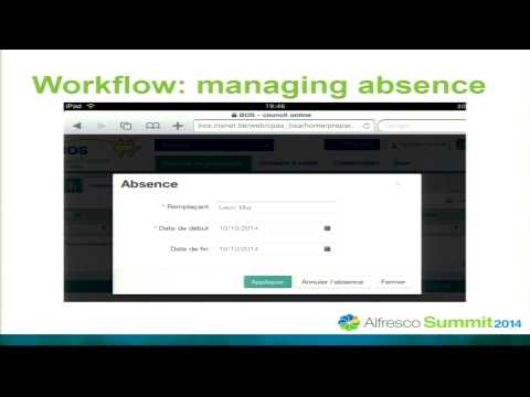 Alfresco Summit 2014: Alfresco at the Core of Driving Change in Brussels Local Administrations