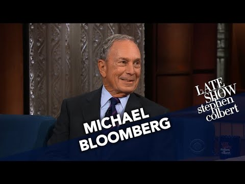 Michael Bloomberg: Let
