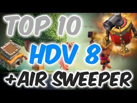 top 10 hdv 8 farm propulseur d 39 air clash of clans. Black Bedroom Furniture Sets. Home Design Ideas