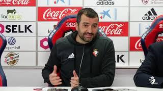 Diego Martínez | Previa Granada C. F. - C. A. Osasuna