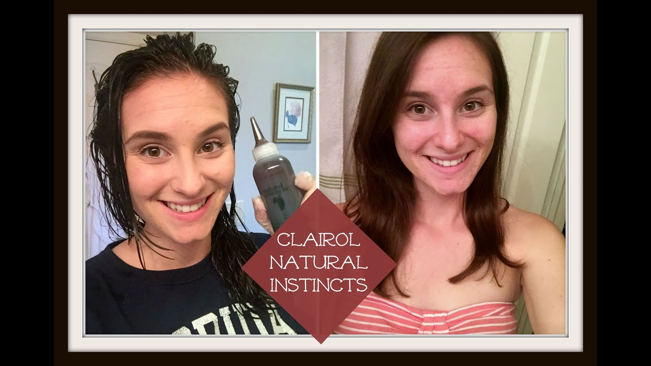 Fall Hair Clairol Natural Instincts Hair Color From A