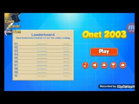 onet 2003 (เกมจับคู่โปเกมอนในตำนาน)