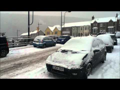 ABERTILLERY HIT BY MORE SNOW