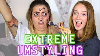 EXTREME UMSTYLING mit Malwanne! | Mirellativegal