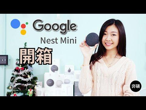 (不含燈泡) GoogleNestMini智慧音箱第二代 必備VIZO迷你插座+萬用IR遙控器 開創新科技智慧家庭