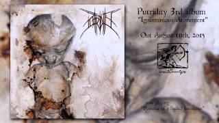 "PUTRIDITY ""Portraits of a Soiled Innocence"" NEW SONG 2015"