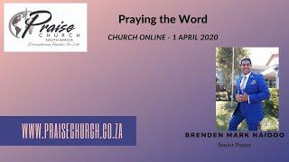 Wednesday Prayer Power 1 April 2020