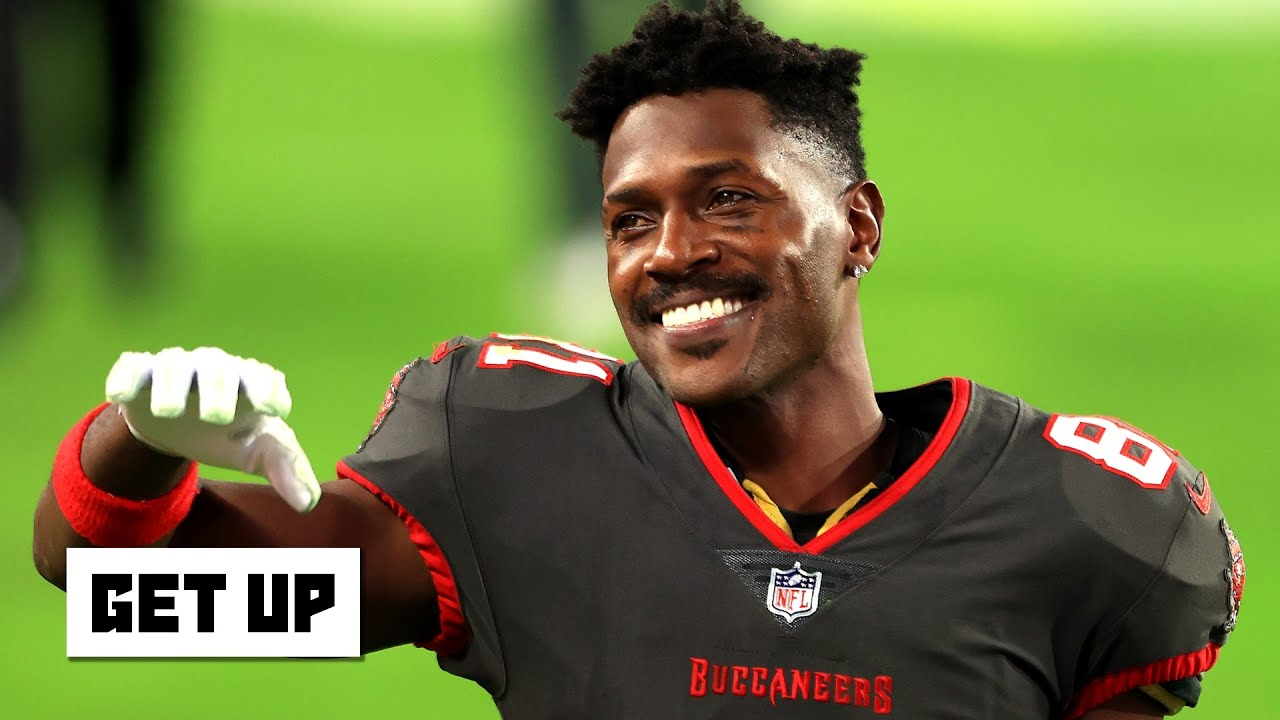 Antonio Brown re-signing with Buccaneers on one-year deal
