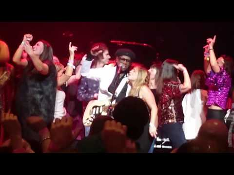 Nile Rodgers / Chic / Waterfront Hall Belfast 11/1
