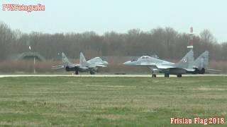 2018-04-09 Wave 2 takeoff exersice Frisian Flag (Leeuwarden airforce base)