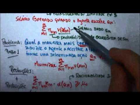 Risco Moral e Incentivos - Moral Hazard and Incentives