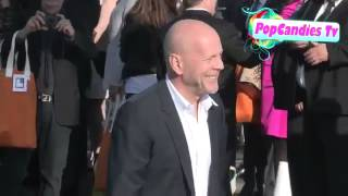 Bruce Willis & Emma Hemming meets fans at 2013 Film Independent Spirit Awards in Santa Monica Thumbnail
