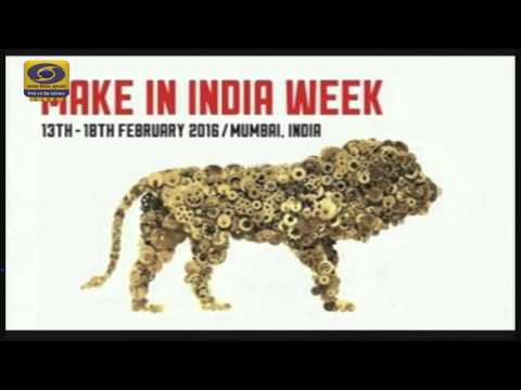 "The Launch of ""Make In India Week"" by PM Narendra Modi - LIVE"