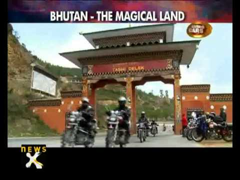 Living Cars: Royal Enfield Tour of Bhutan 2012 - NewsX