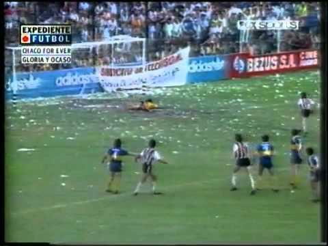 Gran gol de Chaco For Ever a Boca Junior
