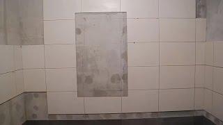 Облицовка ванной комнаты,плиткой,зеркалами и мозаикой ч.4
