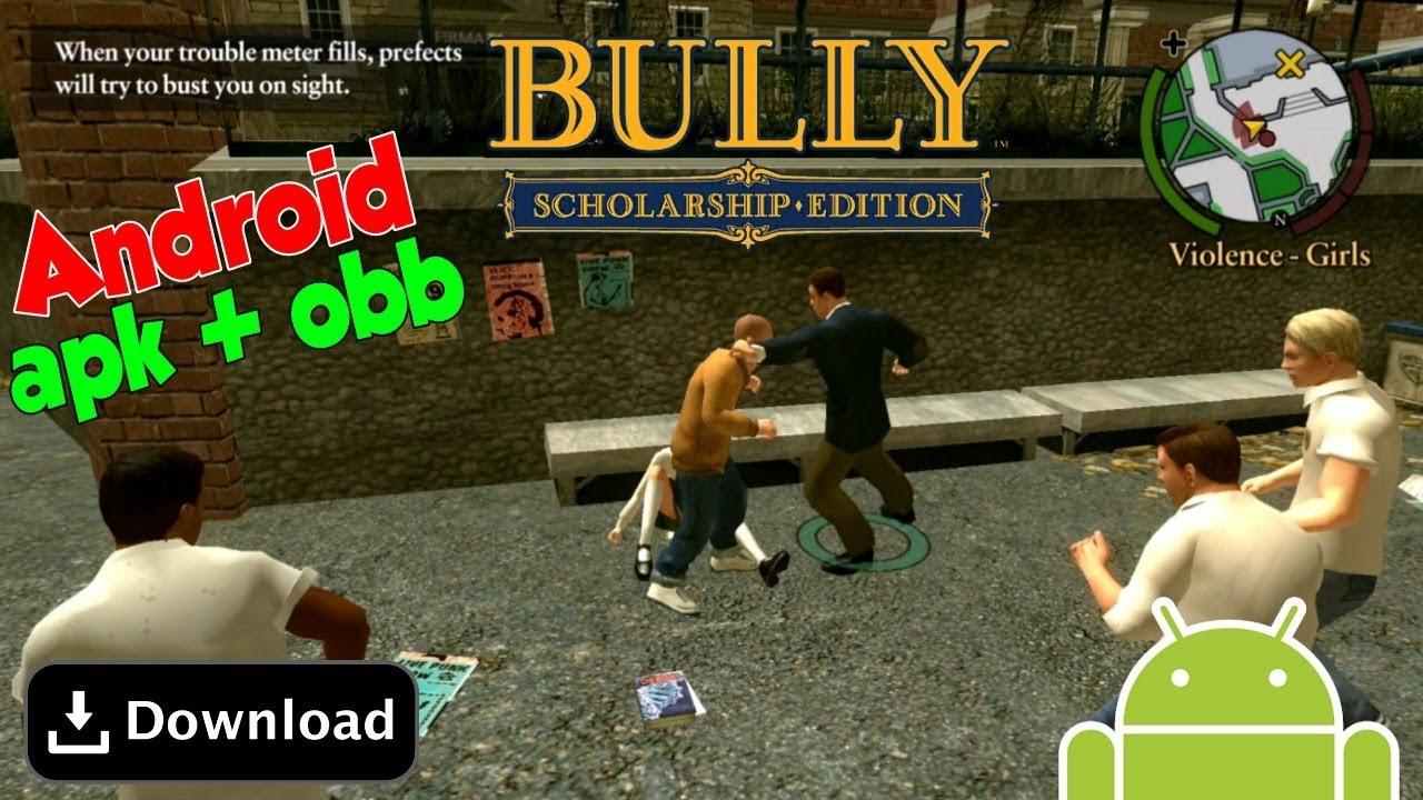 Download - Bully da Rockstar Games para Android GRÁTIS!! (APK+OBB) - DJ  Gamer Forever