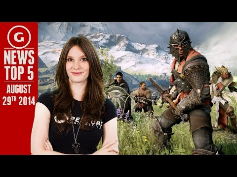 Dragon Age Multiplayer & Hackers Take Down PSN! - GS News Top 5