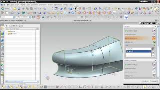 UGS NX 7.5 Урок 3D Lesson Инструмент SWEPT + Sweep along guide.avi