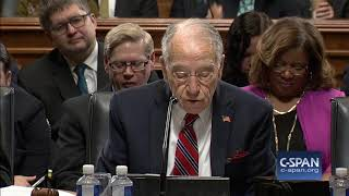 Word for Word: Sen. Grassley on Bill Protecting Special Counsel (C-SPAN)