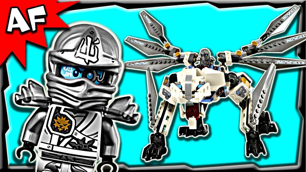 Lego Build Motion Ninjago Jungle Stop Anacondrai Dragon 70748 Review Titanium Zane's c54ASqjL3R