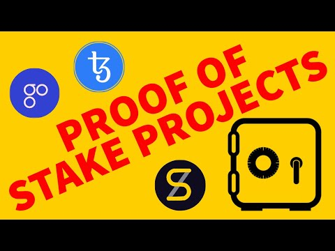 PROOF OF STAKE PROJECTS – WITH BLOCKCHAIN WAYNE