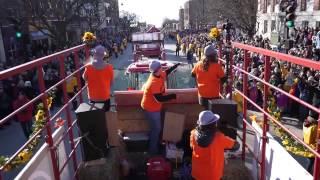 Oktoberfest Vermont Float at the 2015 Magic Hat Mardi Gras Parade