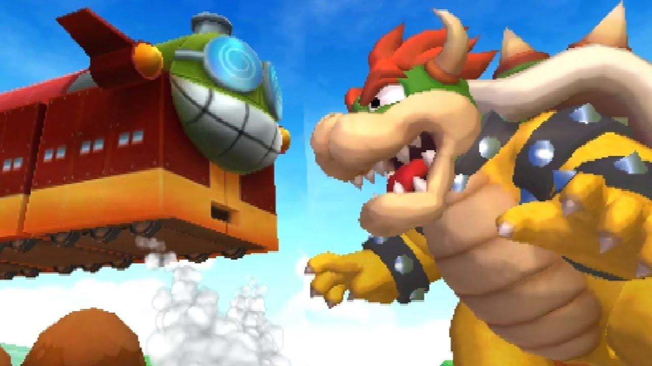 Mario Luigi Bowser S Inside Story 3ds Walkthrough Part 9 Fawful Express Bowser S Castle