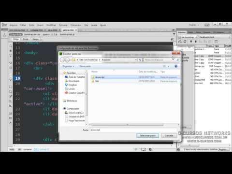 Criação de Sites com Bootstrap - Aula 02 - Iniciando a criação do blog