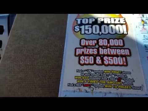 Indiana Lottery Scratch Off Hot 5's BIG BIG WIN Our Biggest Live Scratch WIn Yet