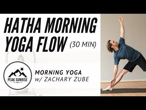 Hatha Yoga - Morning Yoga Flow with Zachary Zube
